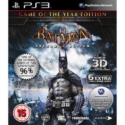 Batman  Arkham Asylum - Game of the Year (PS3) .