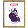 Mottled Gold Picture Frame 27.98cm x 35.5cm